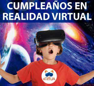 cumpleaños con Realidad Virtual