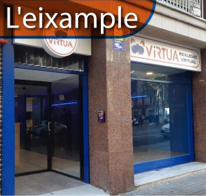 virtua realidad virtual l'eixample