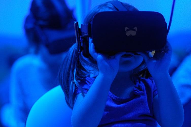 Realidad virtual en familia