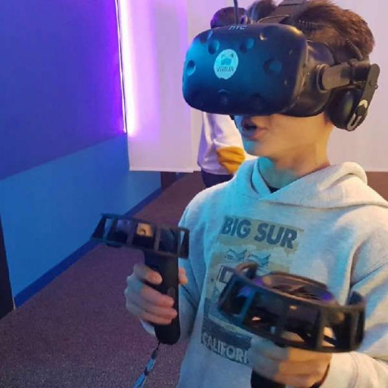 cumpleaños en realidad virtual